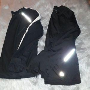 Athleta M/ RBX, L wirk out shirts